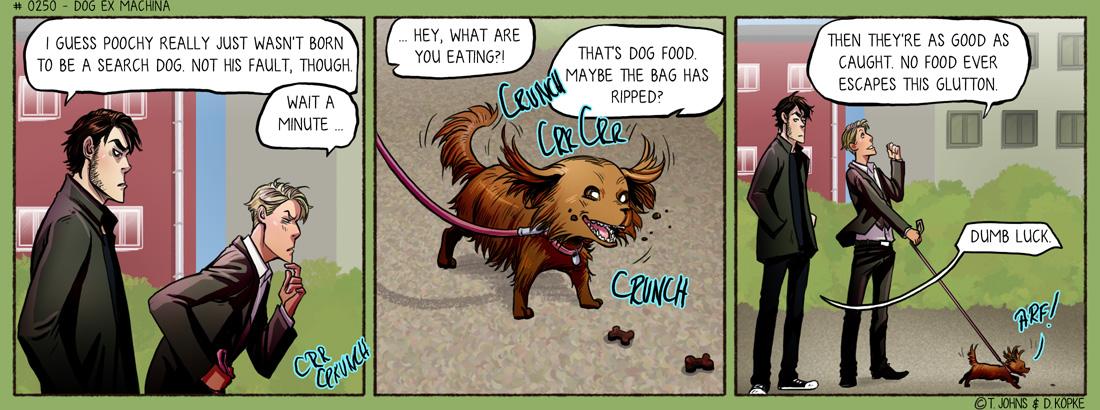 Dog ex machina