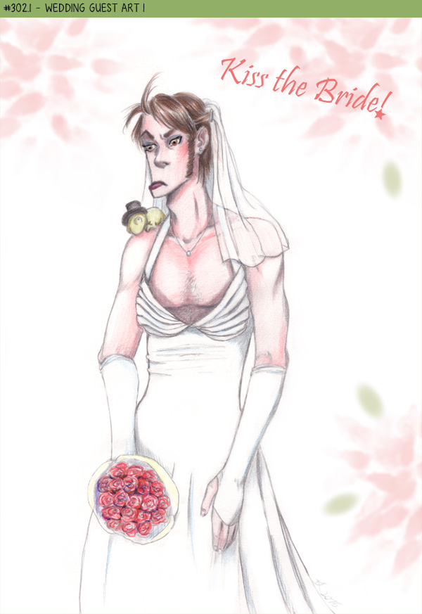 Wedding guest art I