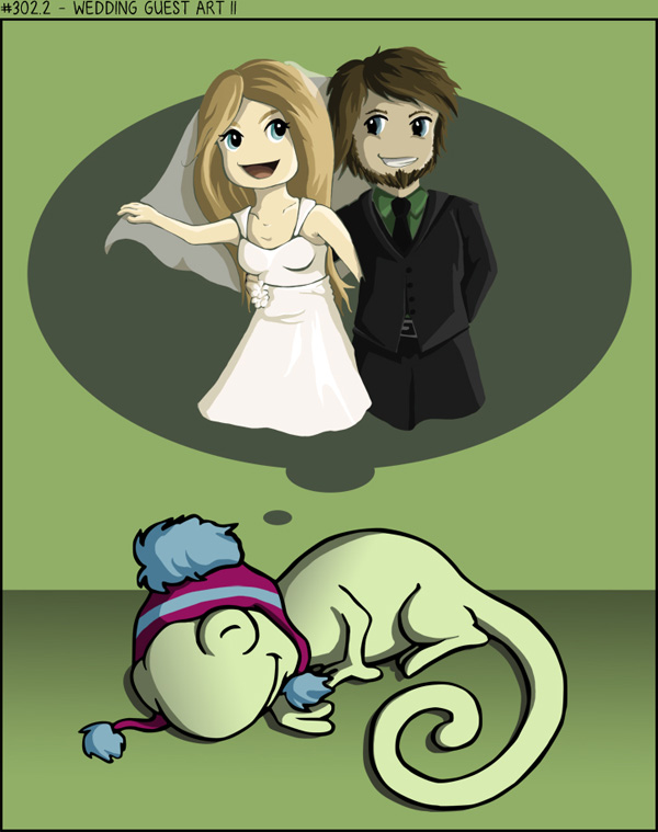 Wedding guest art II
